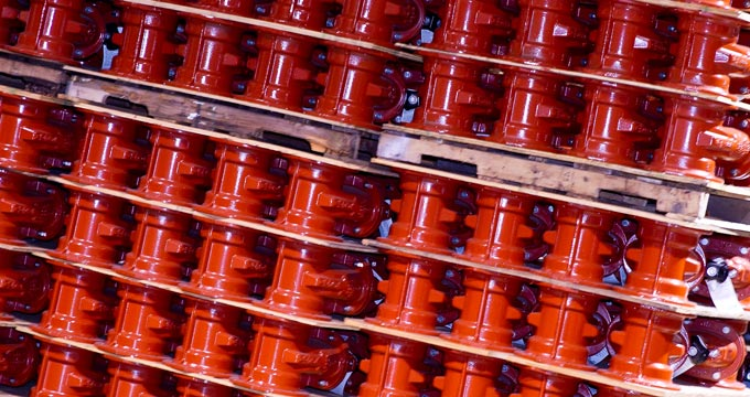 Clow valve stack
